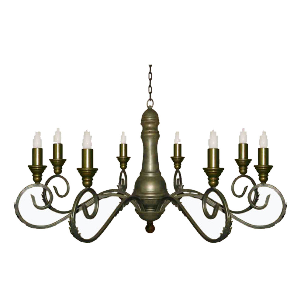 Cedrella 8 Light Chandelier With Candle Sleeves