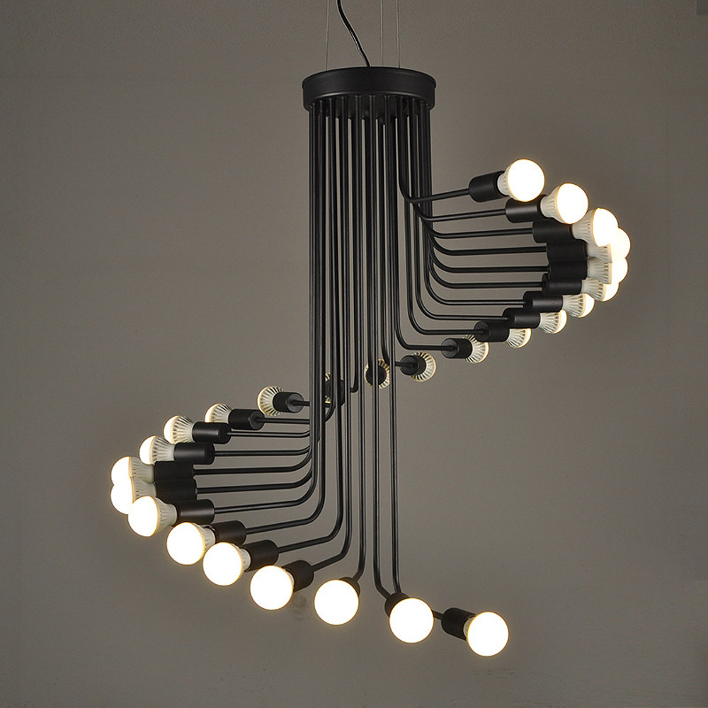 Helix 25 Lt Chandelier Top Image Lighting